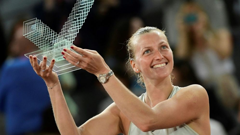 Dritter Turniersieg für Petra Kvitova in Madrid - Bildquelle: AFPSIDJAVIER SORIANO