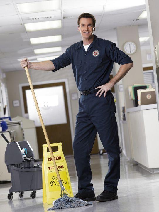(6. Staffel) - Der Hausmeister (Neil Flynn) des Sacred Heart Hospitals macht den Ärzten das Leben schwer ... - Bildquelle: Touchstone Television