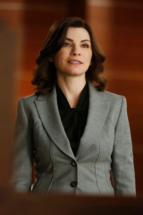 Ihr neuester Fall sorgt für großes Aufsehen: Alicia (Julianna Margulies) ... - Bildquelle: Jeffrey Neira 2012 CBS Broadcasting, Inc. All Rights Reserved