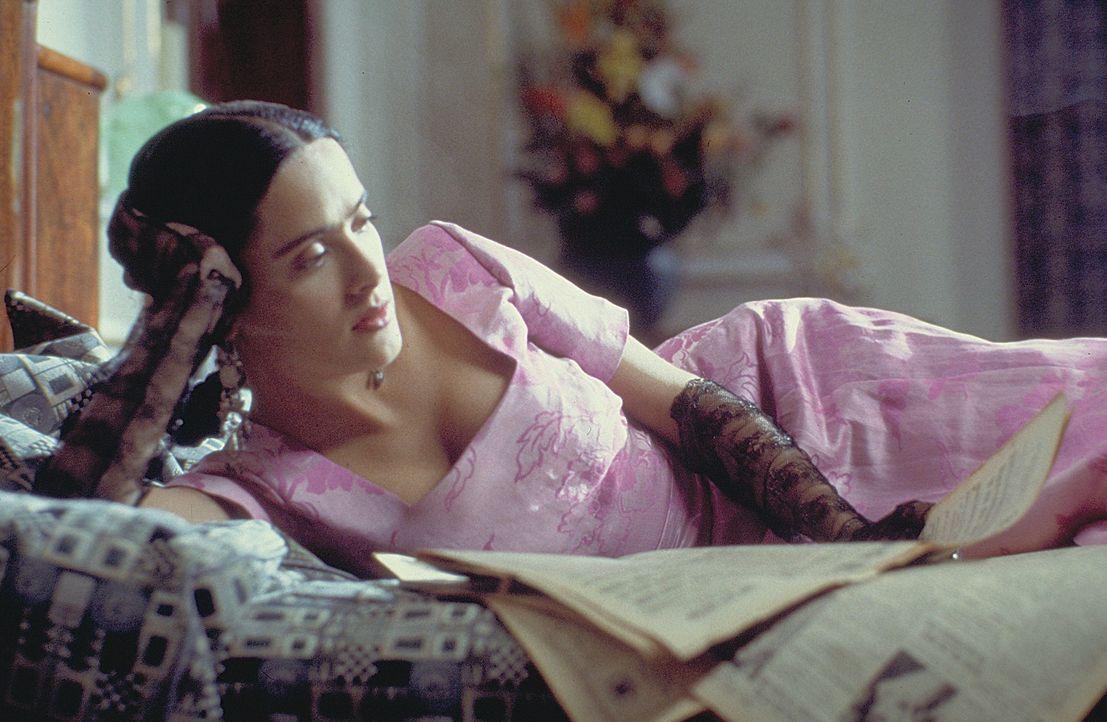 Eine der meistgeschätzten Persönlichkeiten Mexikos: Frida Kahlo (Salma Hayek) ... - Bildquelle: Buena Vista International