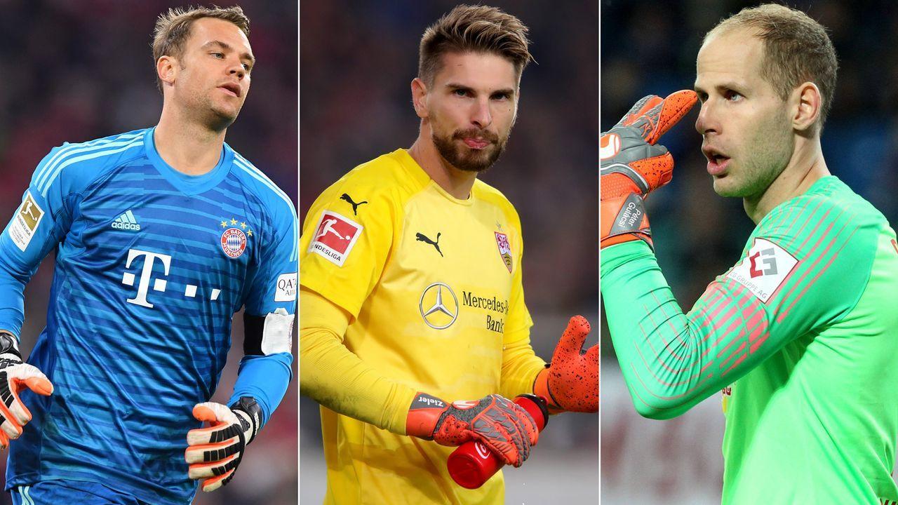Die meisten Paraden der Bundesliga-Torhüter der Saison 2018-19 - Bildquelle: Getty Images/Imago