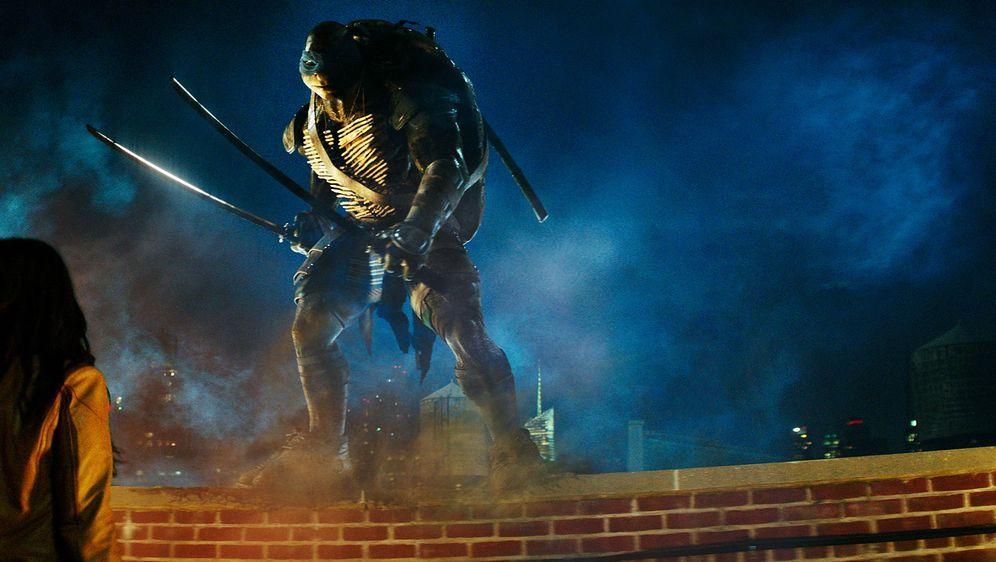 Schildkröten-Action mit Megan Fox - Bildquelle: MMXIV Paramount Pictures