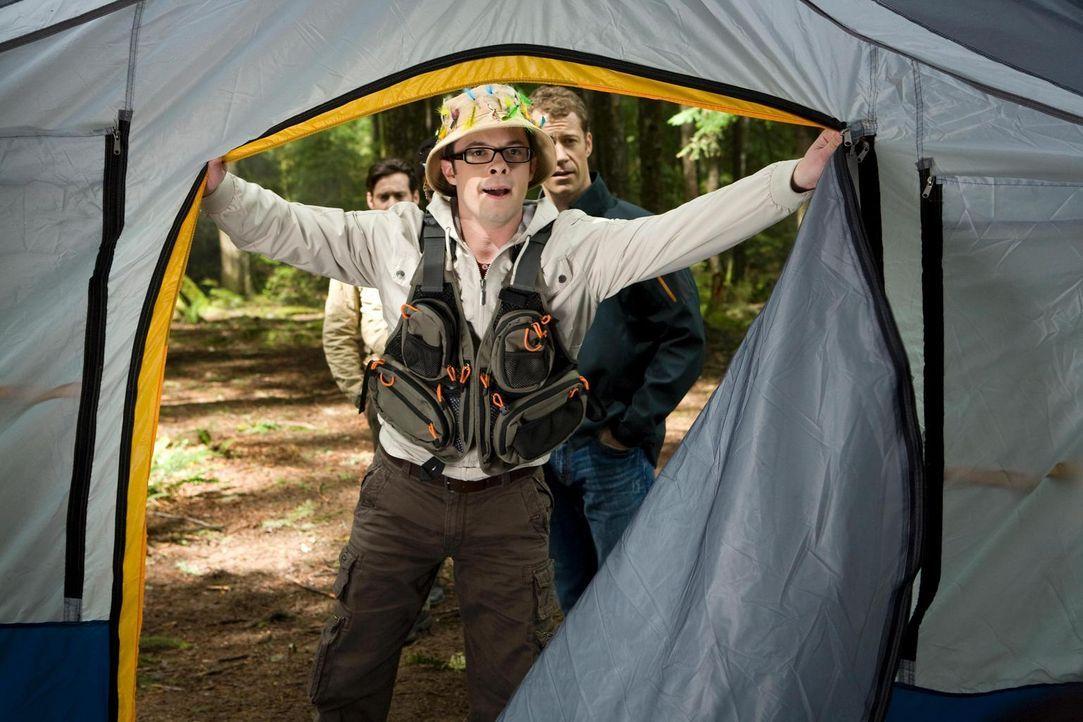 Glamour-Camping: Fargo (Neil Grayston) ... - Bildquelle: Universal Television
