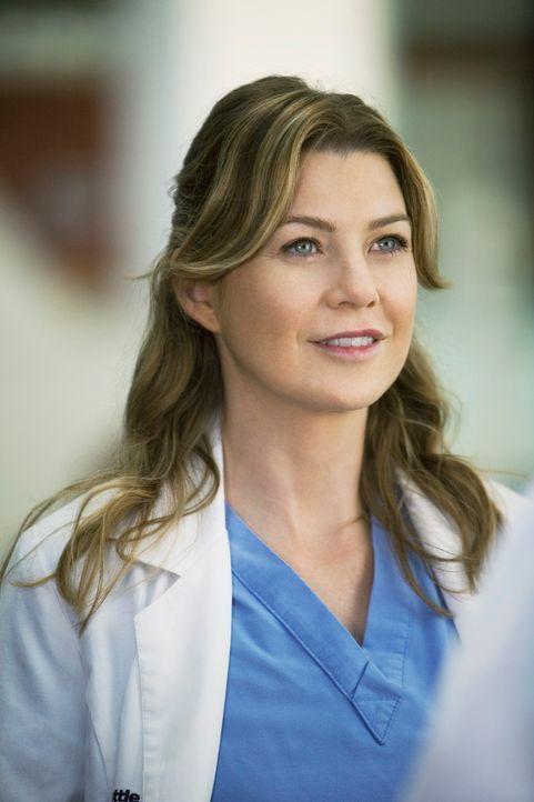 Meredith (Ellen Pompeo) bittet Derek mit Mark zu reden, denn dieser scheint sich ein Auge auf Lexie geworfen zu haben ... - Bildquelle: Touchstone Television