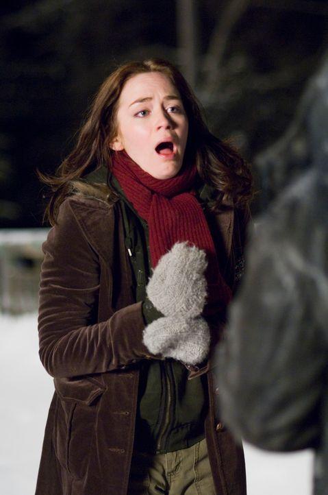 Ein eisiger Alptraum beginnt: eine Studentin (Emily Blunt), die Weihnachten mit ihren Eltern verbringen möchte. - Bildquelle: Copyright   2007 TriStar Pictures, Inc. All Rights Reserved.