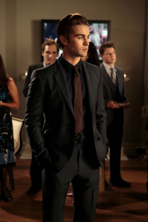 Hat genug von Chucks und Blairs Spielchen: Nate (Chace Crawford) ... - Bildquelle: Warner Bros. Television