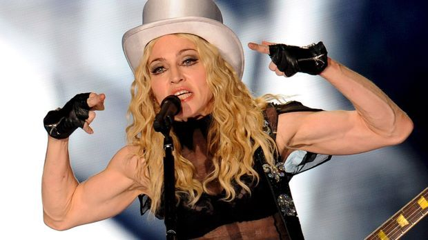 Madonna Muskeln_dpa - Bildfunk
