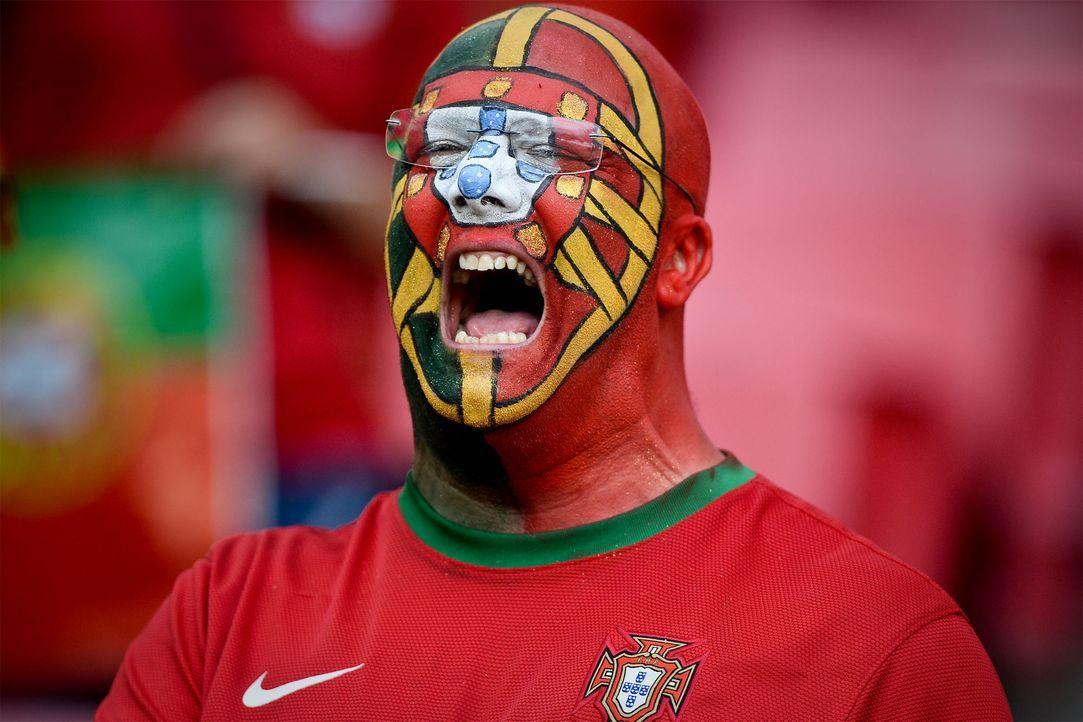 Porto_face_scream_PATRICIA DE MELO MOREIRA_AFP - Bildquelle: AFP / PATRICIA DE MELO MOREIRA_