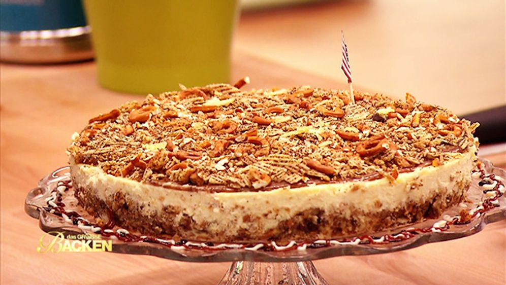 Coffee Toffee Cheesecake with a twist