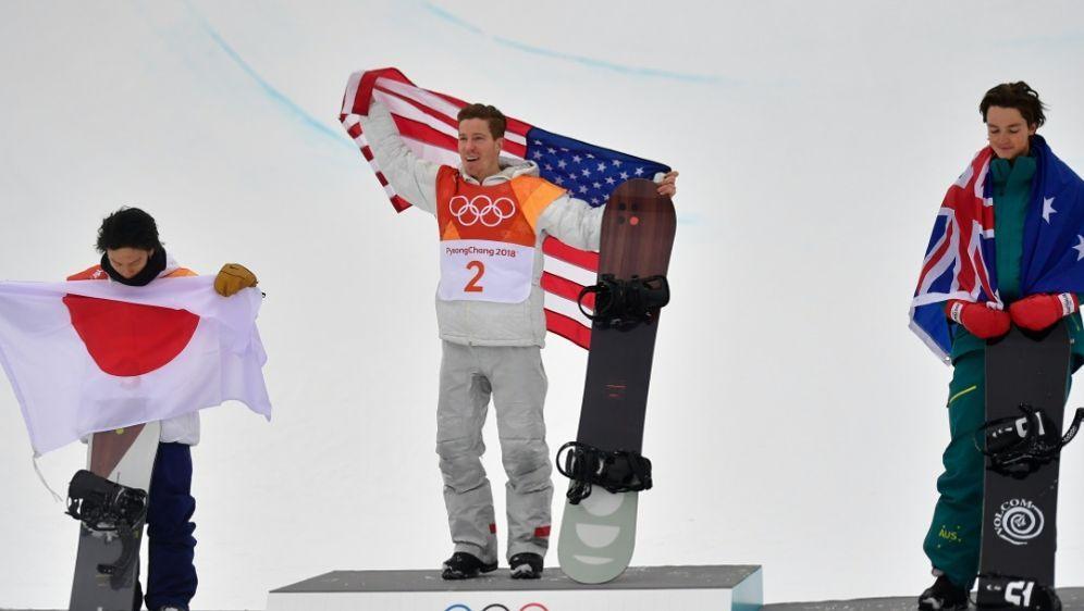 White gewinnt - 100. Goldmedaille für die USA - Bildquelle: AFPSIDMartin BUREAU