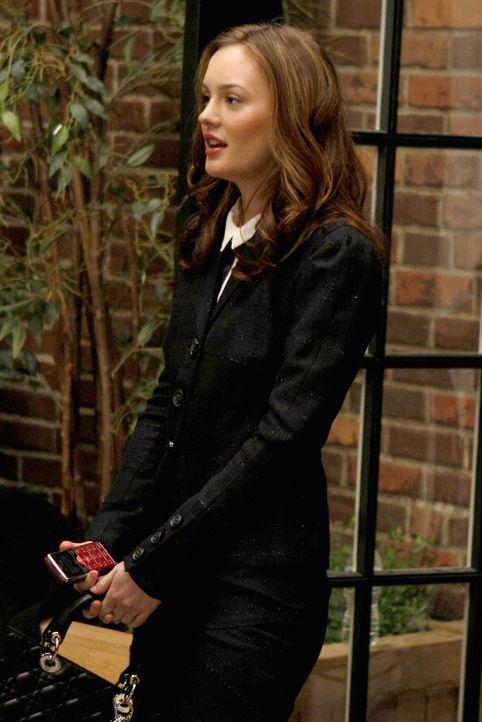Ist fassungslos über Chucks Verhalten: Blair (Leighton Meester) ... - Bildquelle: Warner Brothers