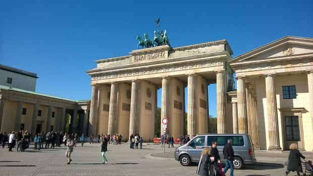 Brandenburger Tor Berlin Pixabay