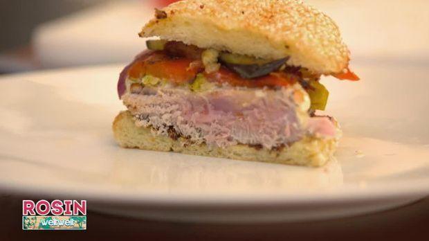 Thunfisch Burger