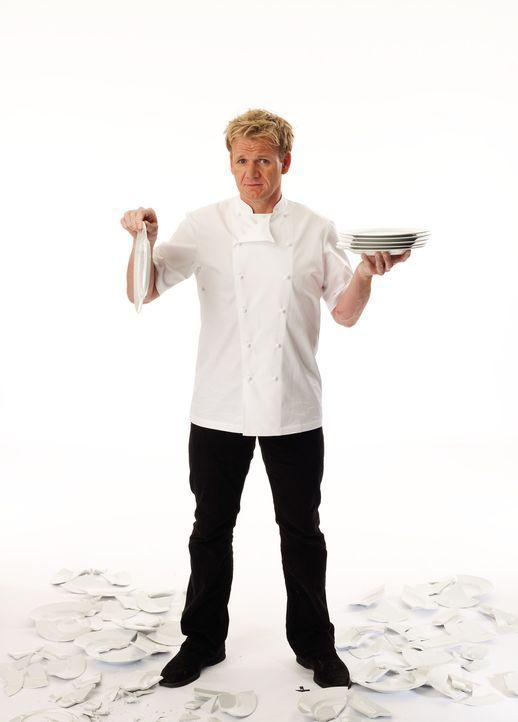 Das Ziel von Sternekoch Gordon Ramsay ist es, die bitteren Tränen der verzweifelten Restaurant-Besitzer zu guter Letzt in Freudentränen zu verwand... - Bildquelle: George Holz Fox Broadcasting.  All rights reserved.