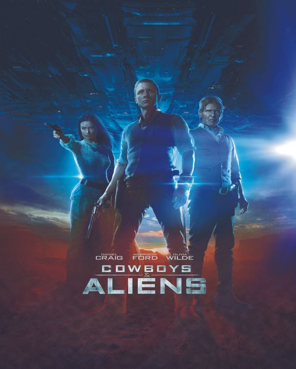 COWBOYS & ALIENS - Artwork - Bildquelle: (2011) DREAMWORKS II DISTRIBUTION CO., LLC and UNIVERSAL STUDIOS.