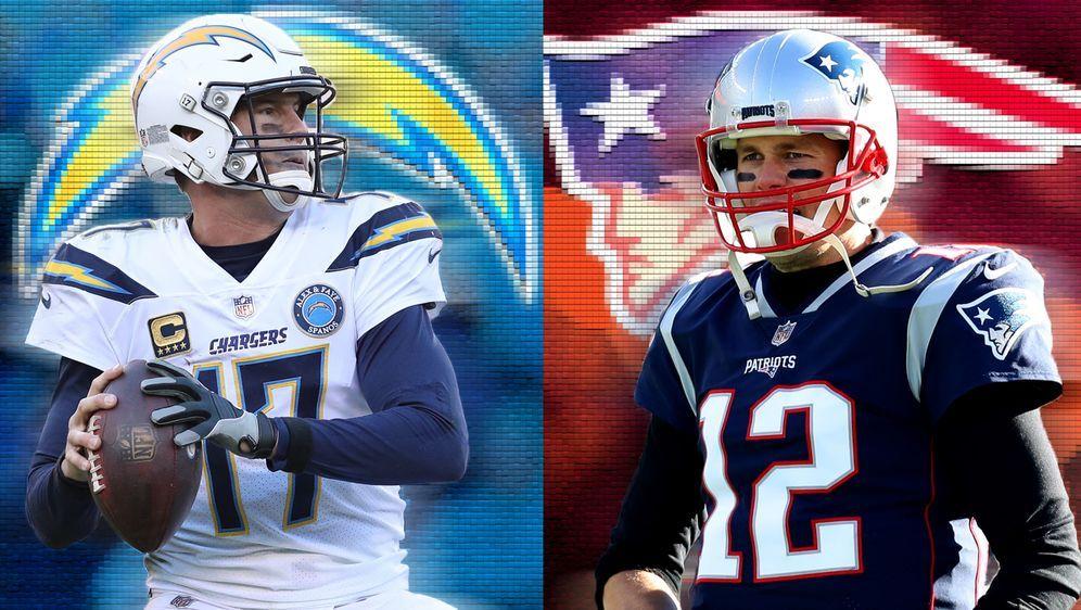 Philip Rivers hat gegen Tom Brady eine Bilanz von 0-7 vorzuweisen - Bildquelle: Getty Images/ran.de