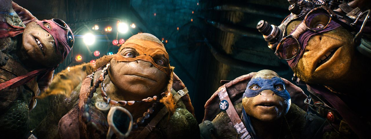 Teenage-Mutant-Ninja-Turtles-2-Paramount - Bildquelle: Paramount Pictures Corporation
