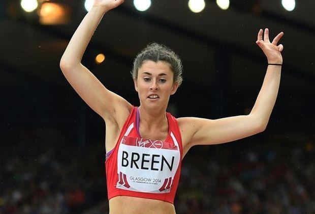 Die Britin Breen sprang vor heimischer Kulisse 4,81 m