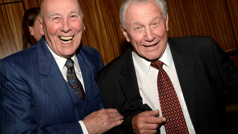 Eckel (l.) und Schäfer (r.) wurden 1954 Weltmeister - Bildquelle: firo Sportphotofiro SportphotoSID