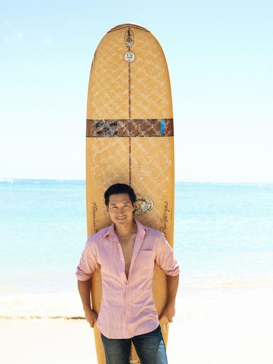 (2. Staffel) - Im Kampf gegen das organisierte Verbrechen im Paradies: Detective Chin Ho Kelly (Daniel Dae Kim) ... - Bildquelle: TM &   CBS Studios Inc. All Rights Reserved.