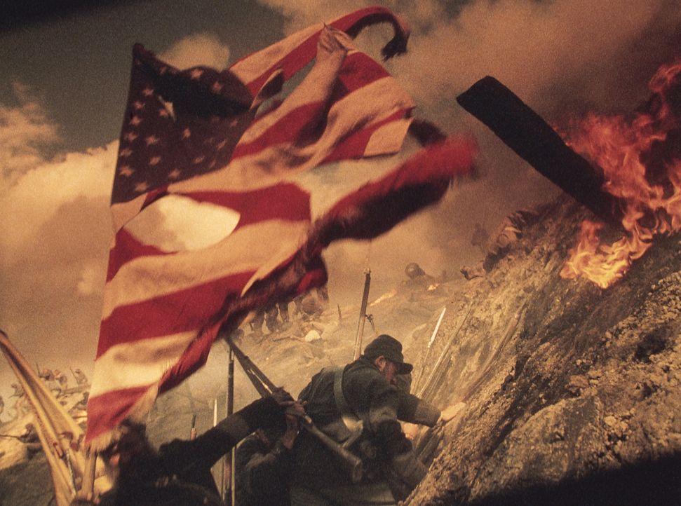 Bürgerkrieg: Inman will überleben - um jeden Preis! Da hilft nur noch Fahnenflucht ... - Bildquelle: Phil Bray MIRAMAX Films/Dimension Films. All Rights Reserved.