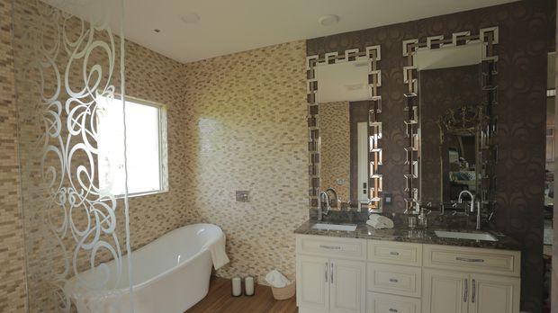 Der perfekte Job für Rob van Winkle und sein Team: Ein beengendes Badezimmer...