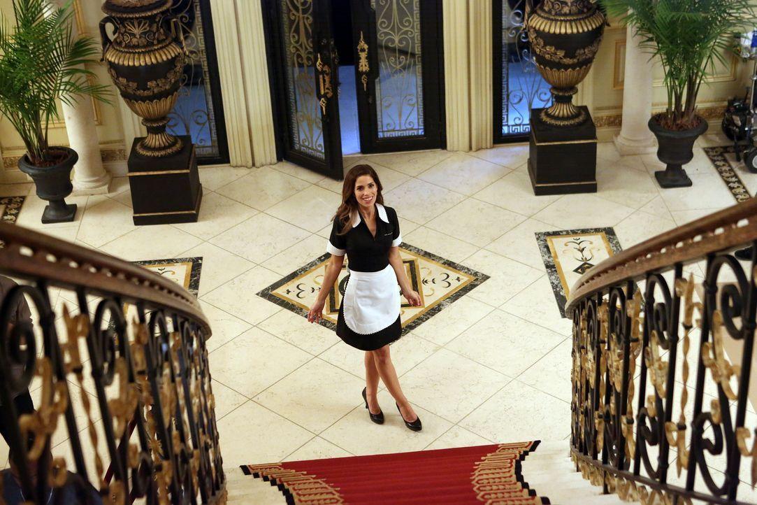 Versucht alles, um auf der Verlobungsfeier von Genevieve und Phillipe die Unschuld ihres Sohnes zu beweisen: Marisol (Ana Ortiz) ... - Bildquelle: ABC Studios