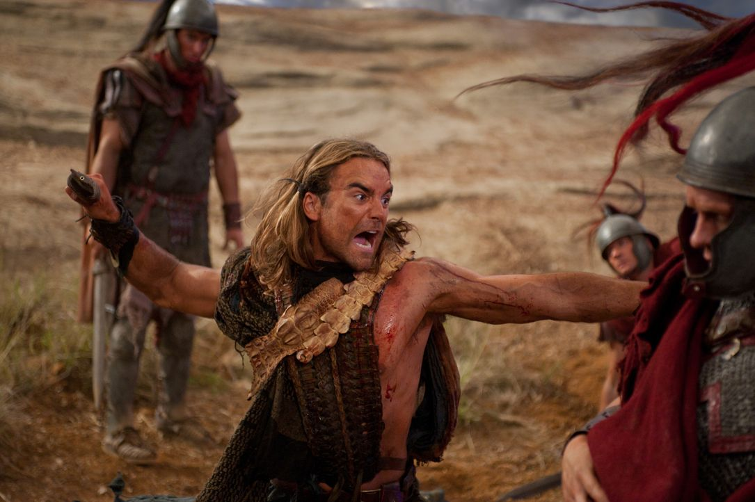 Hat sich entschieden - für Spartacus: Gannicus (Dustin Clare) ... - Bildquelle: 2011 Starz Entertainment, LLC. All rights reserved.