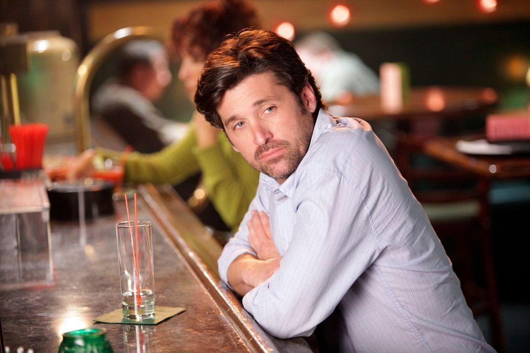 Während Meredith und die anderen Assistenzärzte Nachtschicht haben, möchte Derek (Patrick Dempsey), die Beihilfe, die er für seine klinische Studie... - Bildquelle: ABC Studios