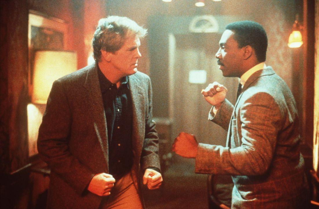 Wie so oft ist eine deftige Prügelei der Beginn einer wunderbaren Freundschaft: Der elegante, schwarze Gauner Reggie (Eddie Murphy, r.) ist nicht b... - Bildquelle: Paramount Pictures