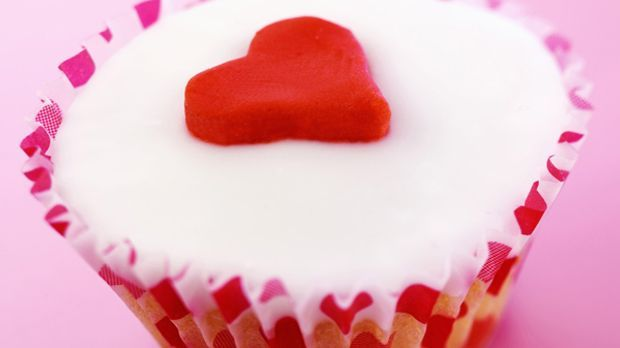 Valentin-Cupcakes für Verliebte