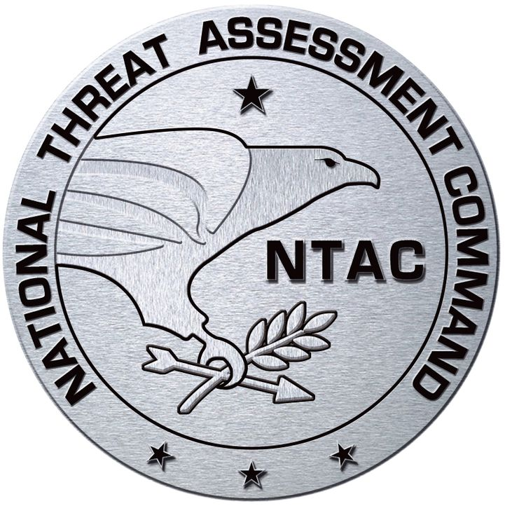 NTAC (National Threat Assessment Command) Logo ... - Bildquelle: Viacom Productions Inc.