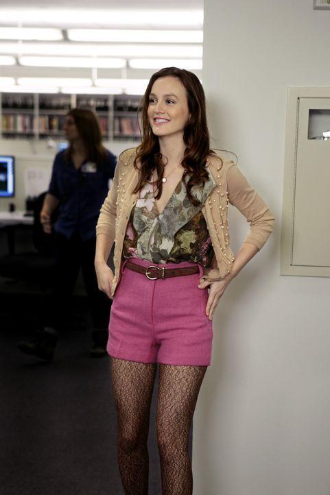 Ist aufgeregt und stolz, da sie ein Praktikum bei einem Magazin ergattert hat: Blair (Leighton Meester) ... - Bildquelle: Warner Bros. Television