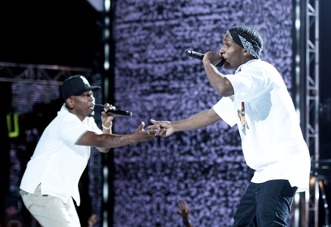 BET-Awards-Kendrick-Lamar-ASAP-Rocky-13-06-30-getty-AFP.jpg 1800 x 1232 - Bildquelle: getty-AFP