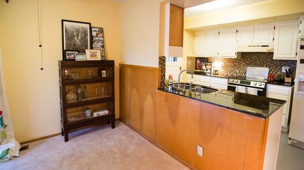 Der Bauunternehmer Josh Temple wird dieses Mal die altmodische Küche, inklusi...