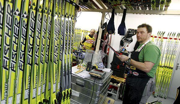 Ski Herstellung - Bildquelle: dpa