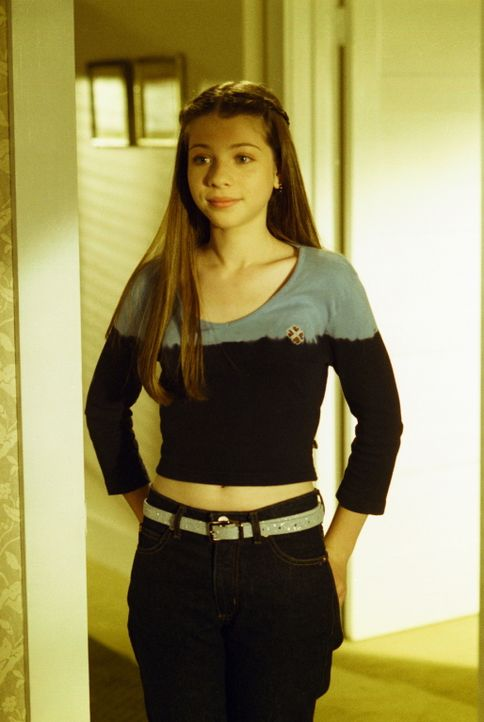 Dawn (Michelle Trachtenberg), Buffys jüngere Schwester, fühlt sich von Buffy vernachlässigt. - Bildquelle: TM +   2000 Twentieth Century Fox Film Corporation. All Rights Reserved.