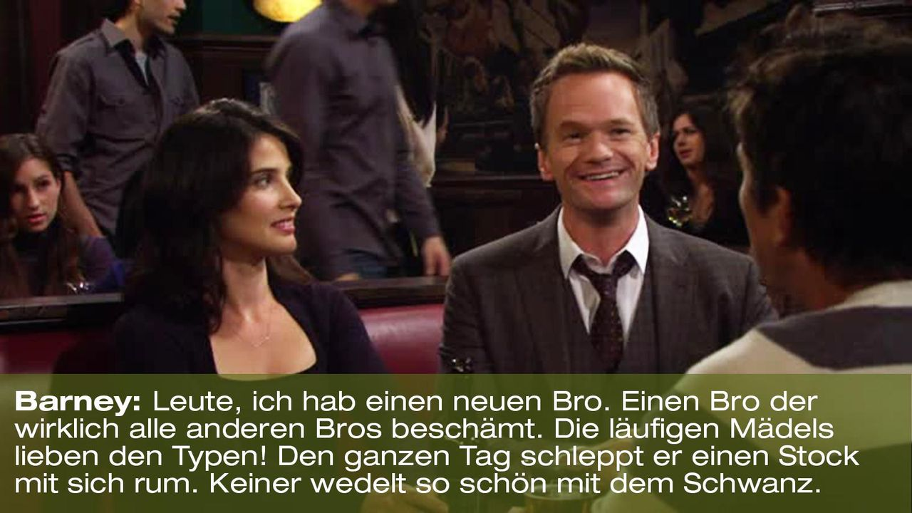 how-i-met-your-mother-zitat-quote-staffel-8-episode-5-durchtriebene-hunde-1-barney-foxpng 1600 x 900 - Bildquelle: 20th Century Fox