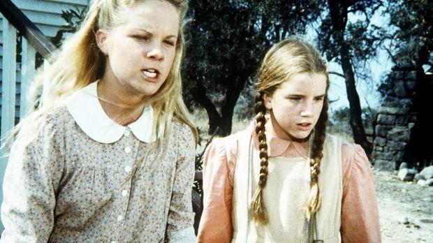 Laura (Melissa Gilbert, r.) und Mary (Melissa Sue Anderson, l.) haben für den...
