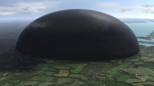 Was ist unter der Kuppel nur los? Plötzlich verfärbt sich die Kuppel schwarz....