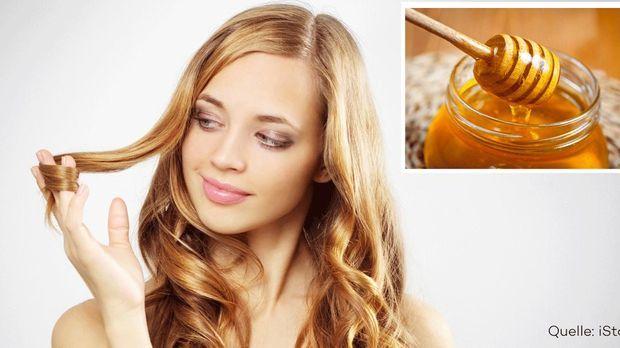 Haare Aufhellen Honig