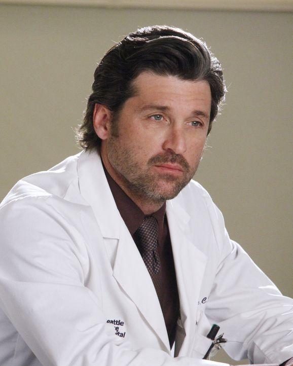 Ist seine Frau Addison wirklich von ihm schwanger oder etwa doch von Mark? Derek (Patrick Dempsey) weiß nicht, ob er ihr vertrauen kann ... - Bildquelle: ABC Studios