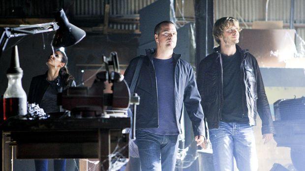 Navy CIS: L.A. - Callen (Chris O'Donnell, M.), Sam, Deeks (Eric Christian Ols...