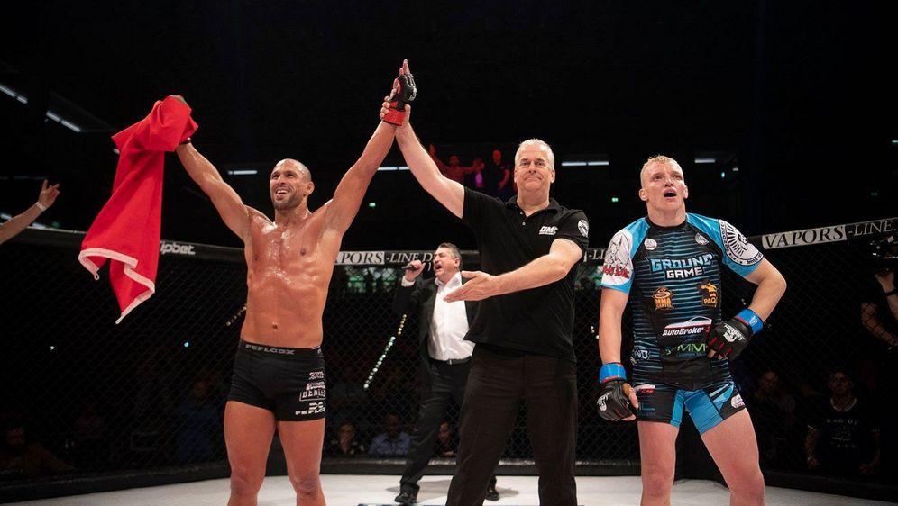 Nordin Asrih stellte sich bei GMC 17 dem UFC-Veteranen Lukasz Sajewski - Bildquelle: FotoSevenSport/GMC