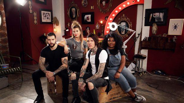 (3. Staffel) - In ihr Tattoo Studio kommen einige Menschen mit seltsamen und...