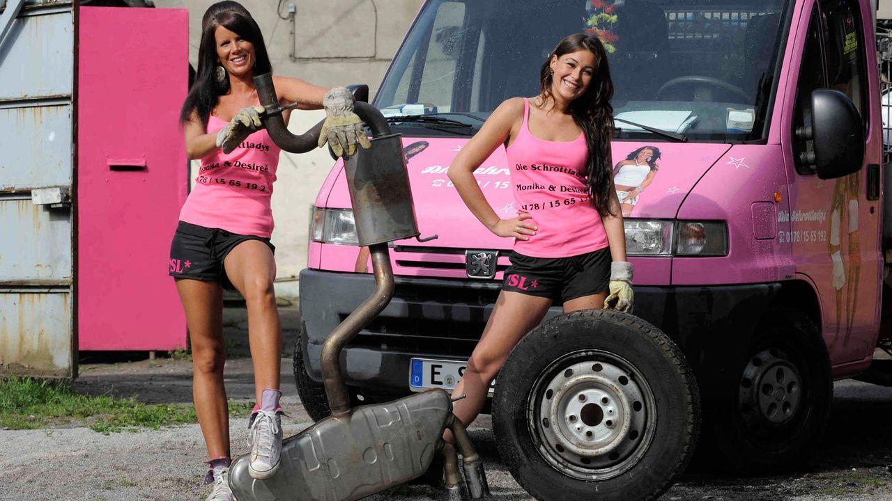 Die Schrott-Ladies - Bildquelle: kabel eins