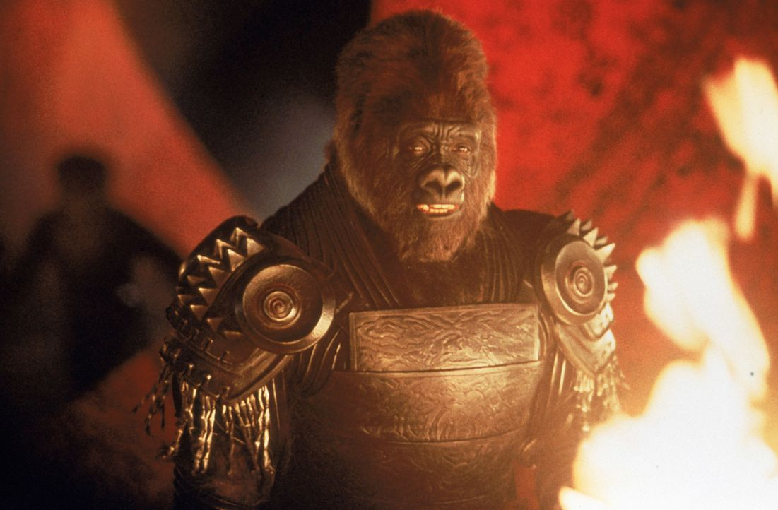 Der gefürchtetste Krieger in Thades Armee: Gorilla-Hauptmann Attar (Michael Clarke Duncan) - Bildquelle: 2003 Twentieth Century Fox Film Corporation. All rights reserved.