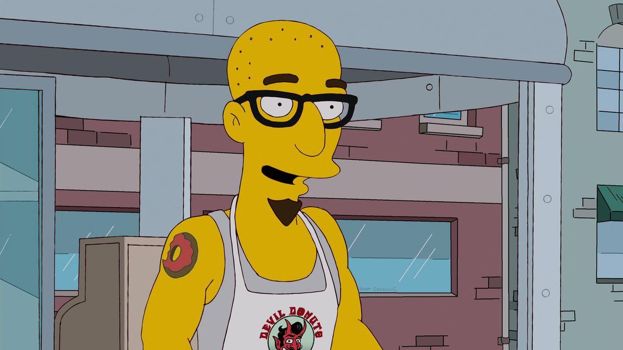 Verändert Homers Leben: Terence ... - Bildquelle: und TM Twentieth Century Fox Film Corporation - Alle Rechte vorbehalten