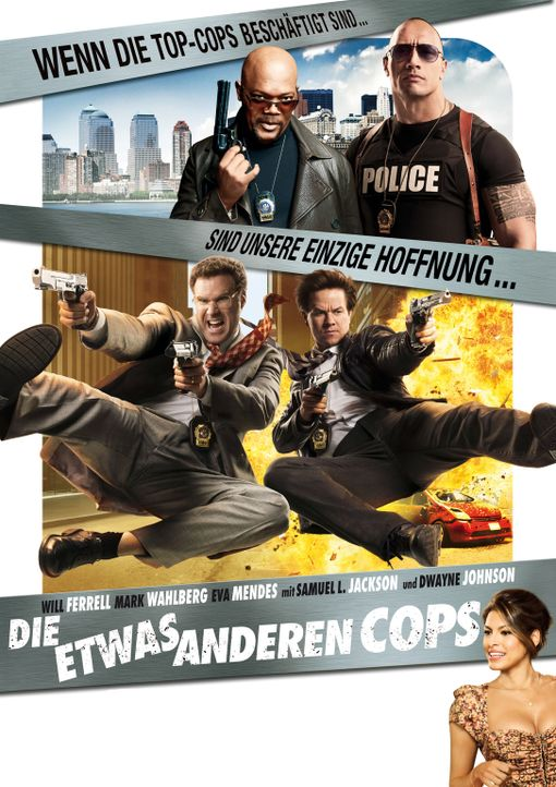 Die etwas anderen Cops - Plakatmotiv - Bildquelle: 2010 Columbia Pictures Industries, Inc. All Rights Reserved.