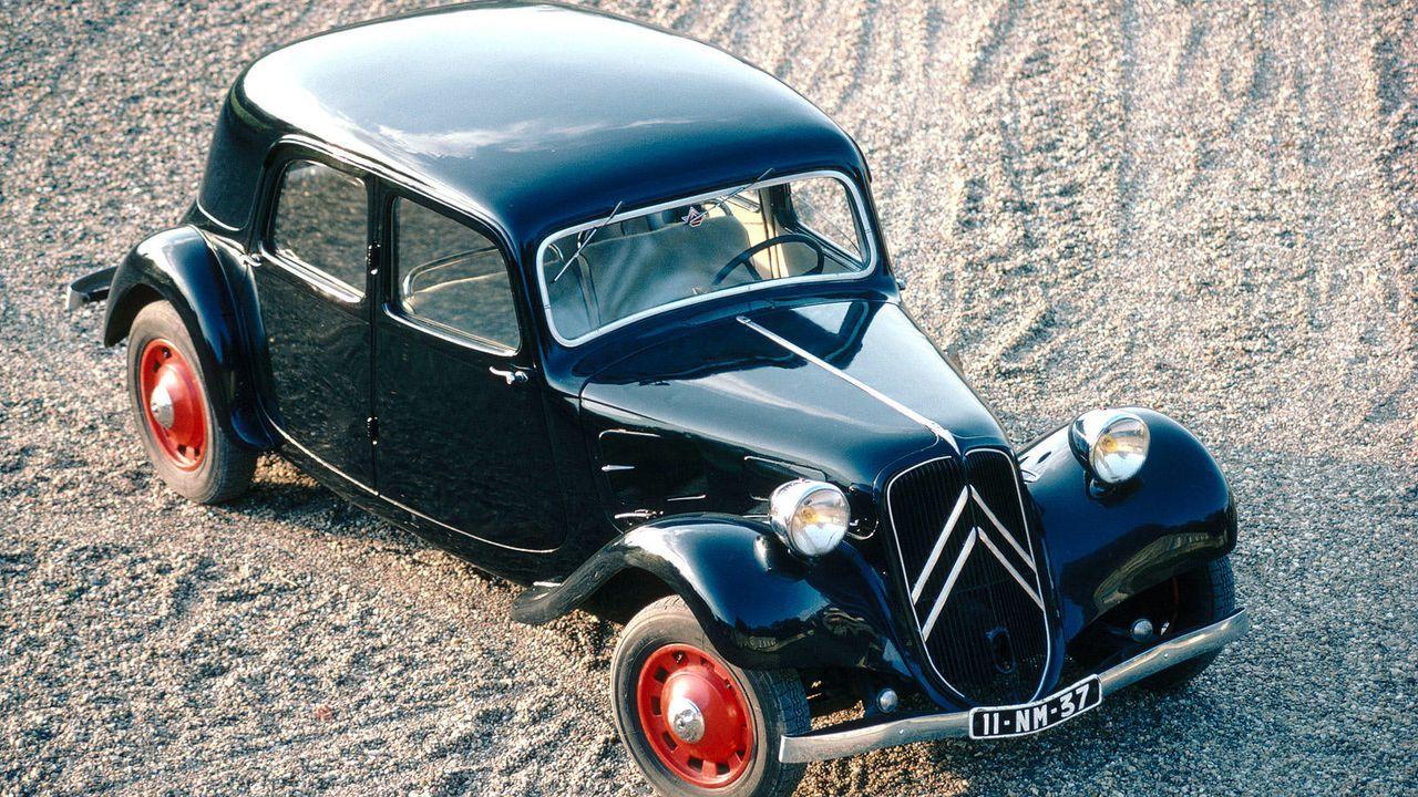 Citroën Traction Avant - Bildquelle: Citroën